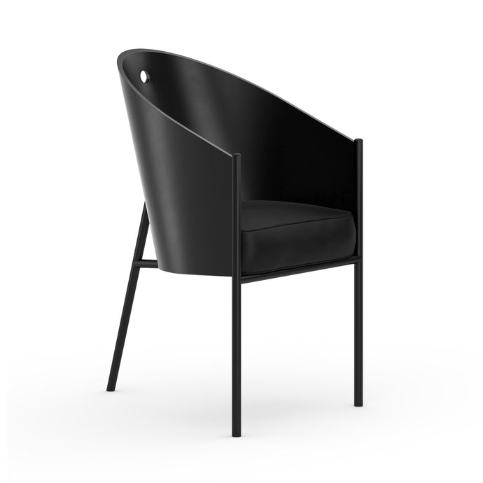 Chaise P.Starck Costes Chair Lacquered Black