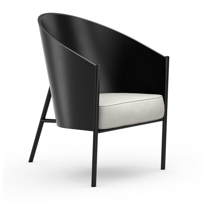 Stuhl P.Starck Costes Armchair Lacquered White