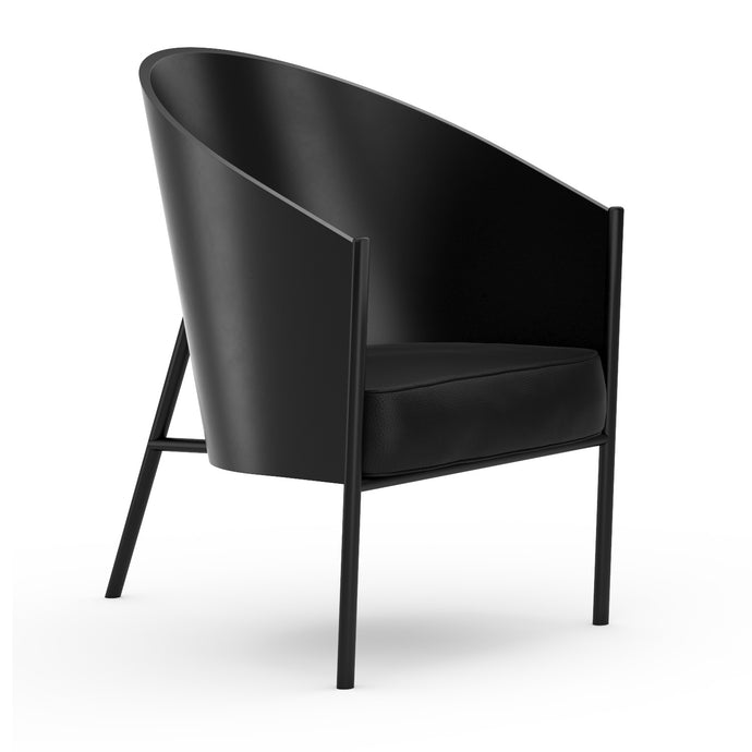 Chaise P.Starck Costes Armchair Lacquered Black