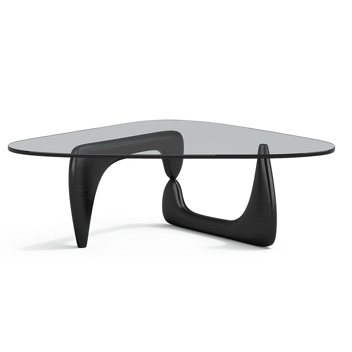 Table I. Noguchi Coffe Table Black Lacquered