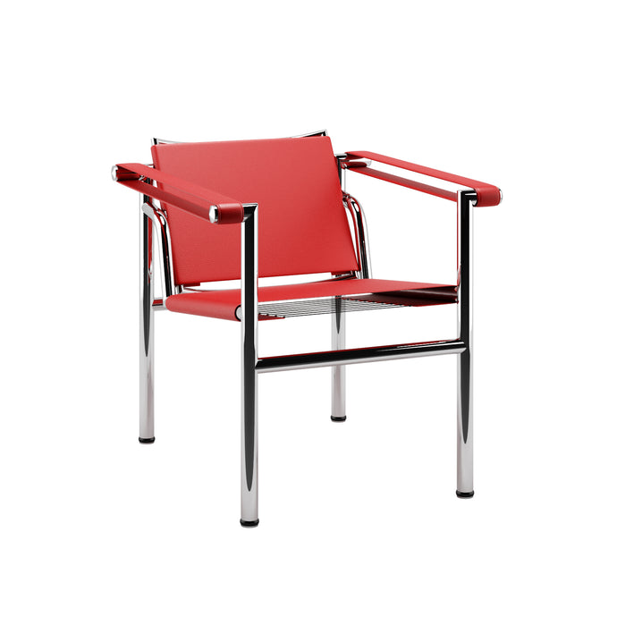 Fauteuil Le Corbusier LC1 Basculante Red 1