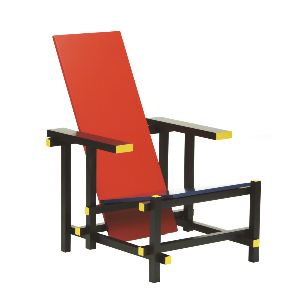 Red Blue Armchair RT33