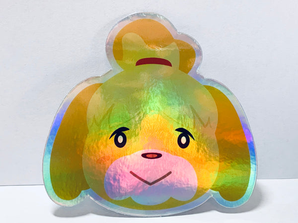 Holographic Isabelle Sticker
