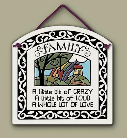Family Wall Plaque - Heart of the Home PA