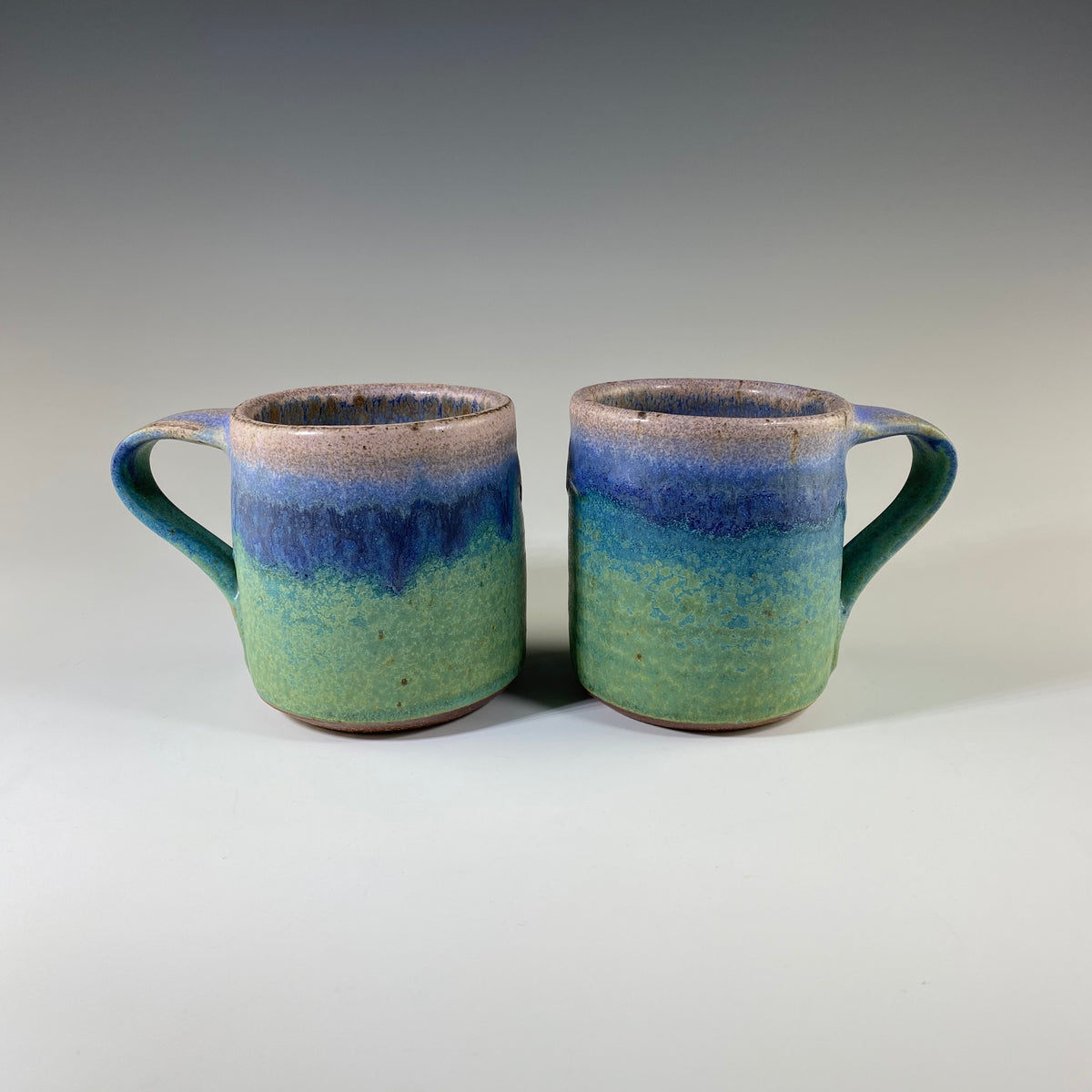 Demitasse Cup in Turquoise & Lavender - Heart of the Home PA