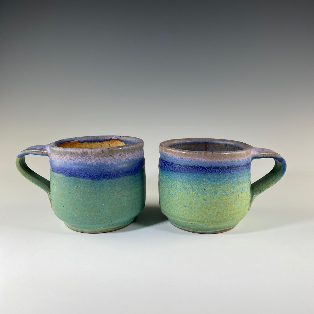 Mug in Turquoise & Lavender - Heart of the Home PA