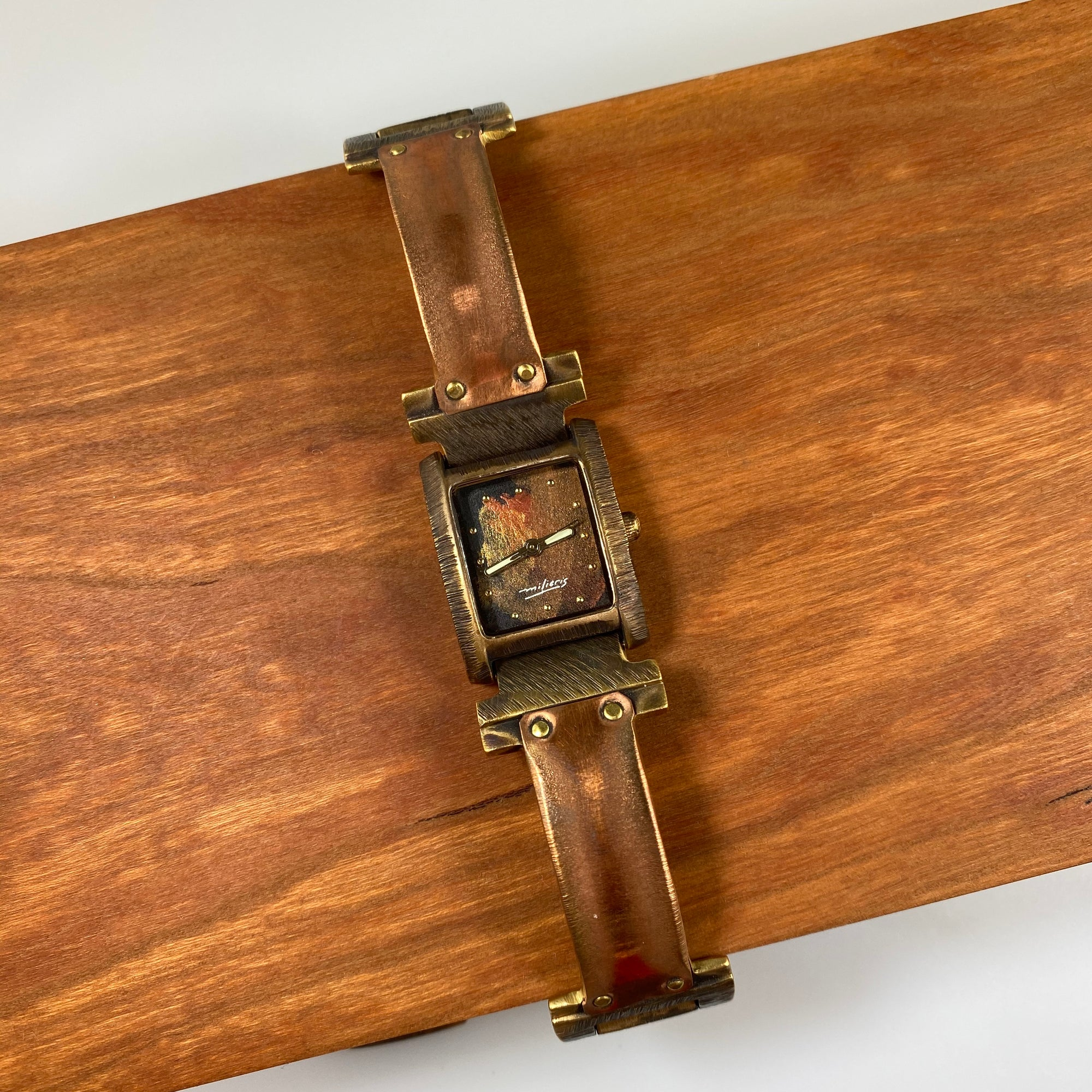 RCS Buffed Copper Watch - Heart of the Home PA