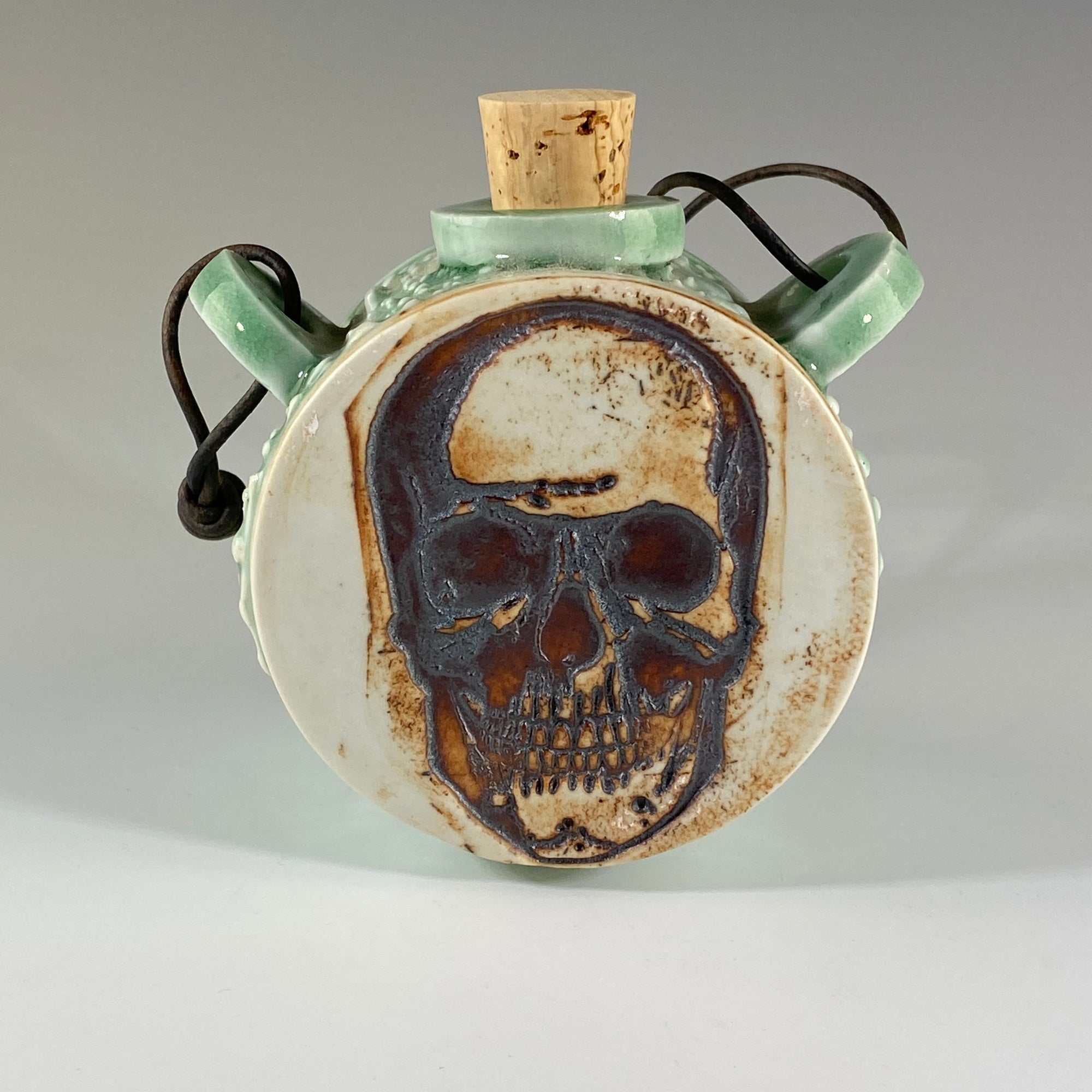 Skull Hanging Flask - Heart of the Home PA