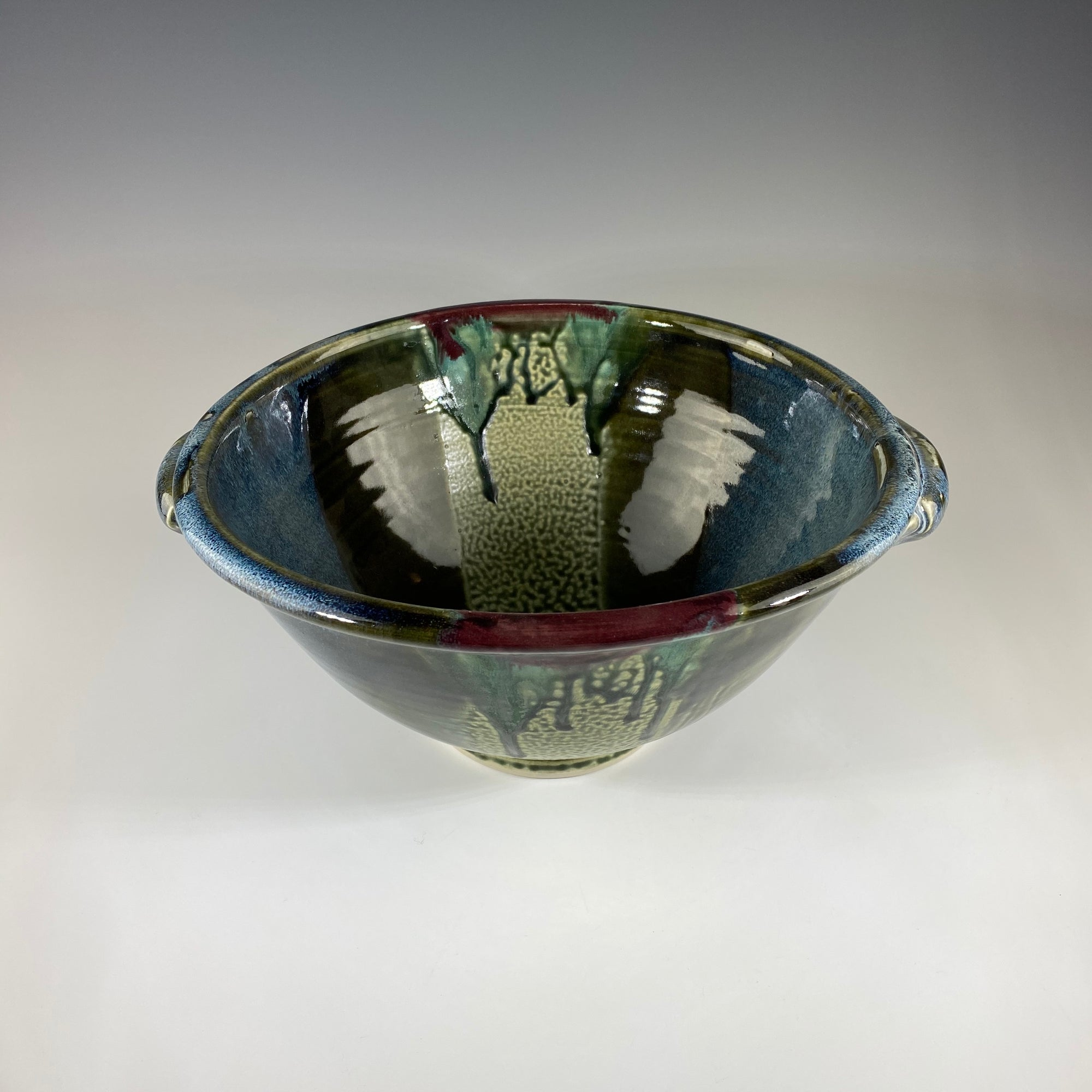 Serving Bowl - Dark Teal - Heart of the Home PA