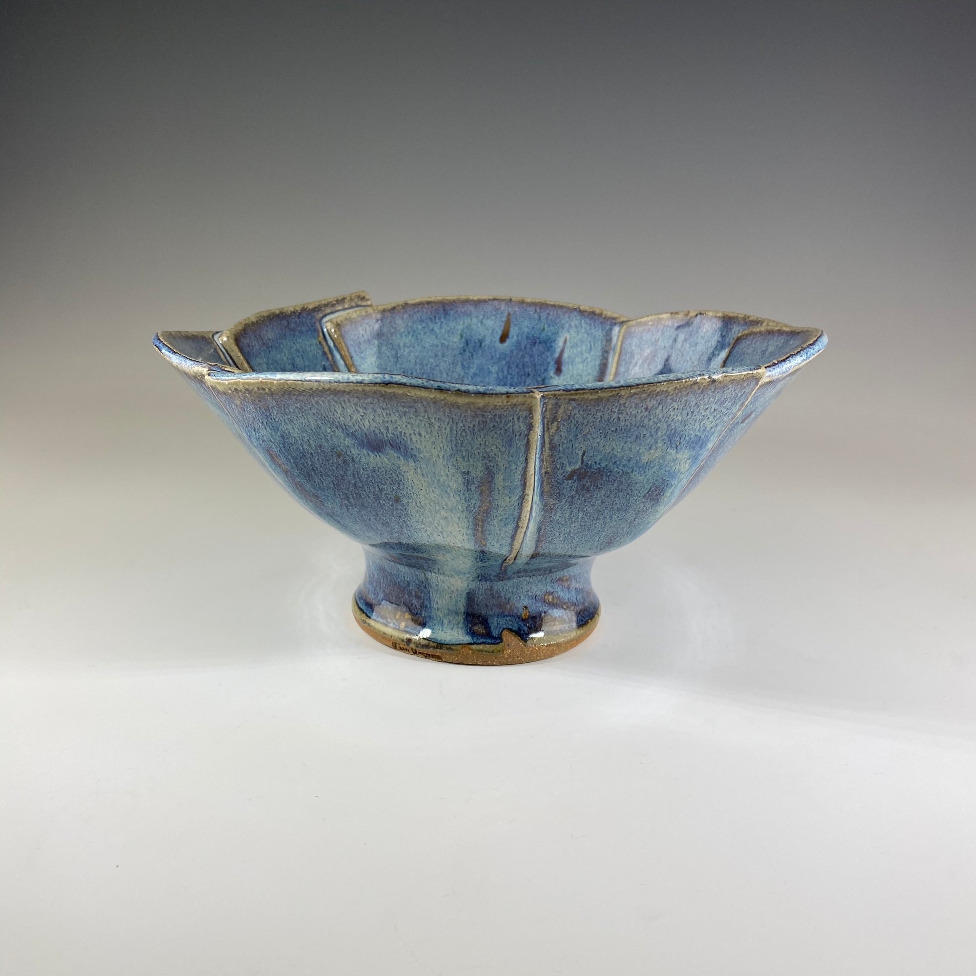 Small Lotus Bowl - French Blue - Heart of the Home PA