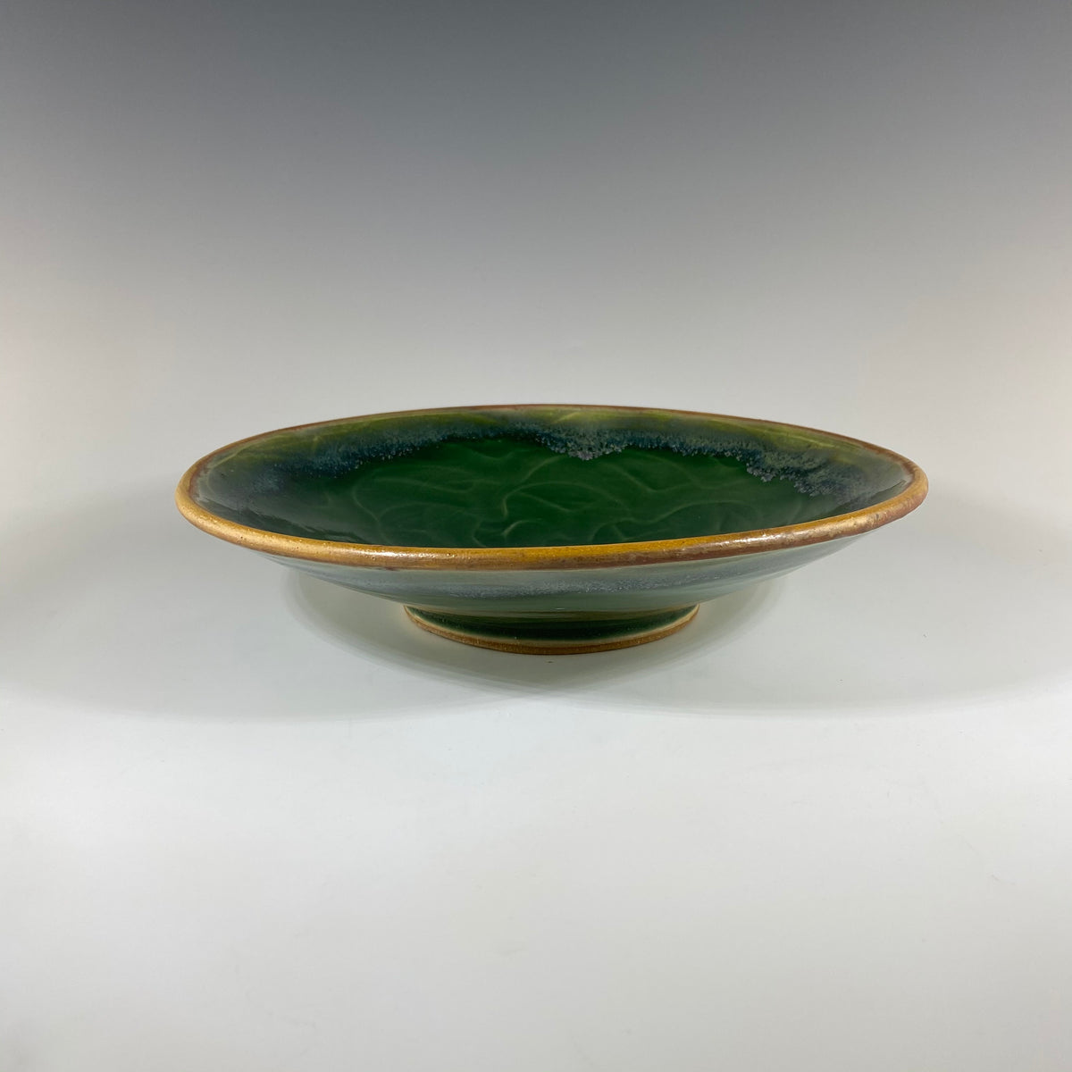 Shallow Dish in Green - Heart of the Home PA