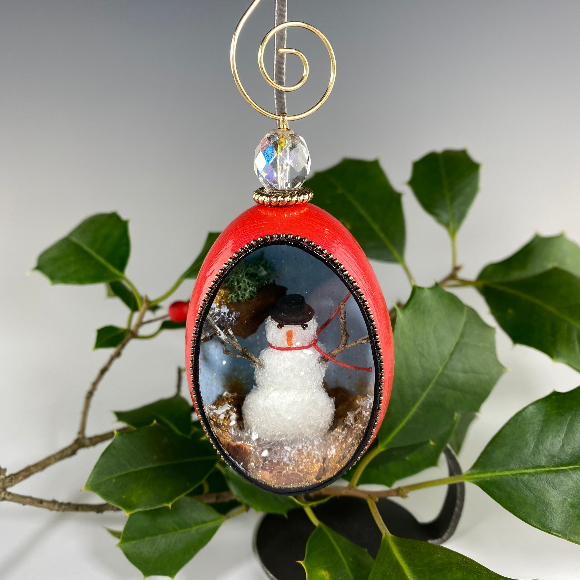 Mr. Snowman Ornament - Heart of the Home PA