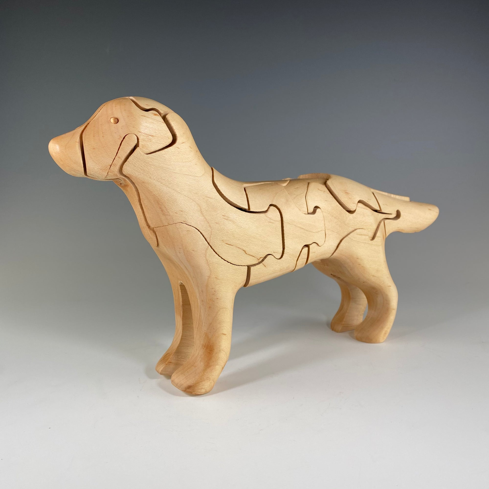 Labrador Puzzle with Duck - Heart of the Home PA