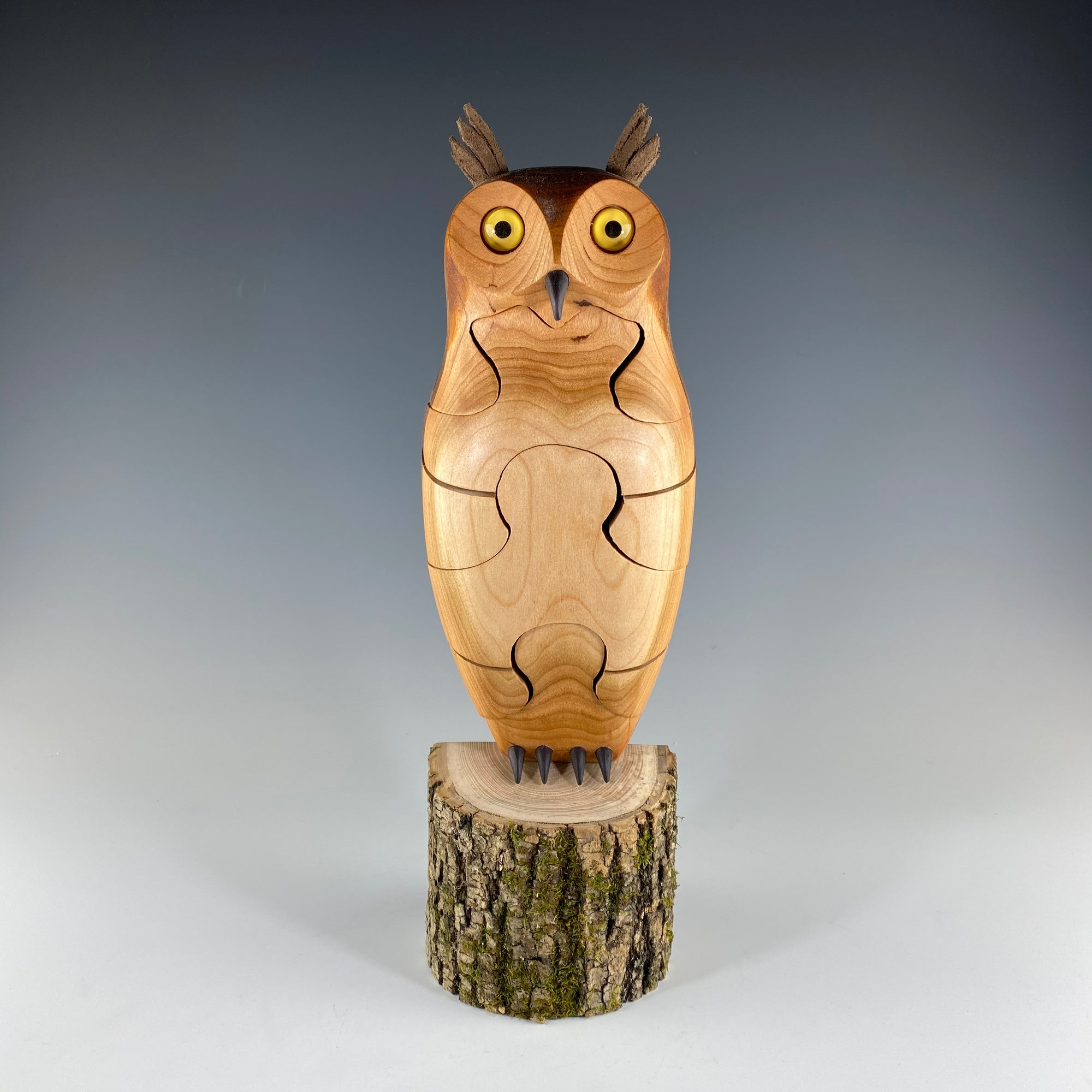 Great Horned Owl Puzzle - Heart of the Home PA