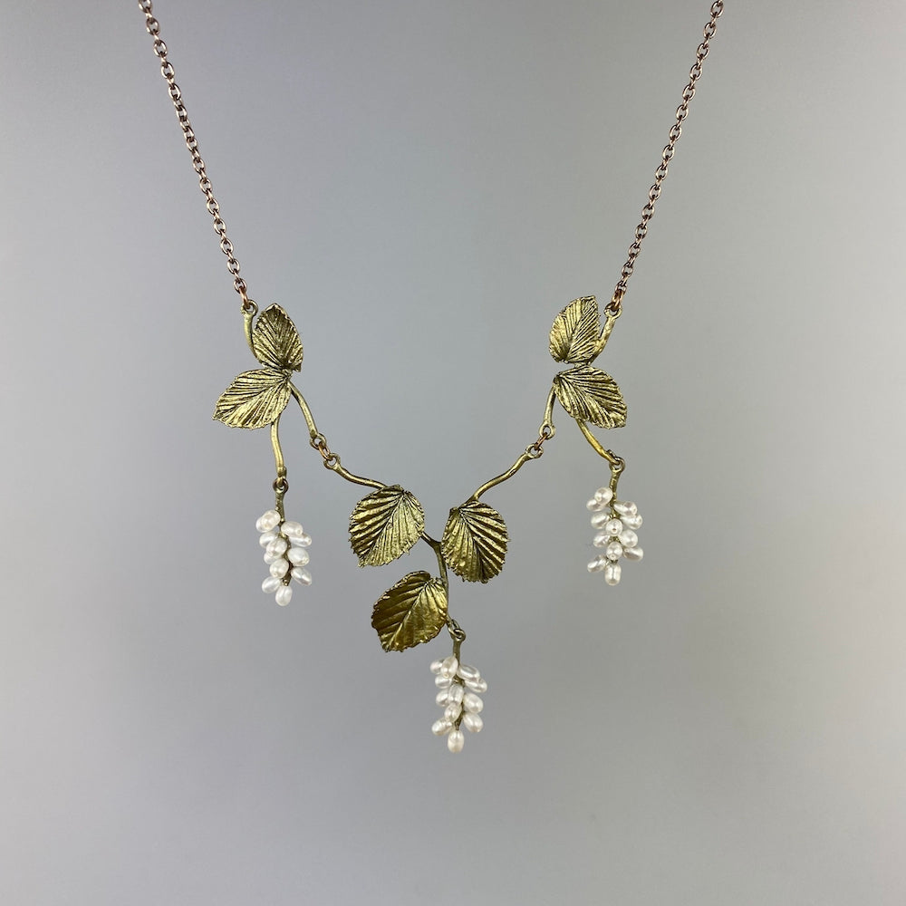 Spring Birch Spray Necklace - Heart of the Home PA