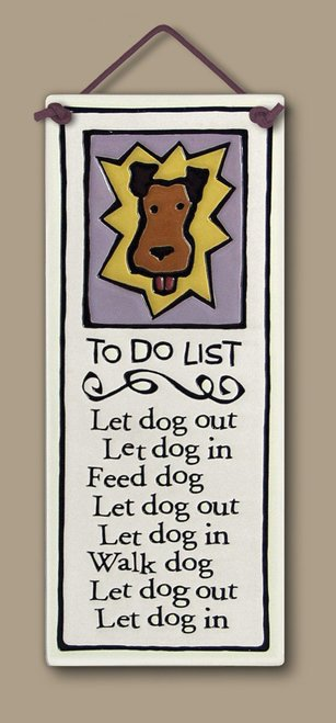 To Do List Wall Plaque - Heart of the Home PA