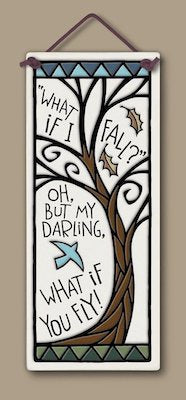 What if You Fly Wall Plaque - Heart of the Home PA