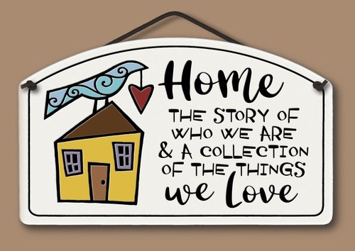 Home/Story Wall Plaque - Heart of the Home PA