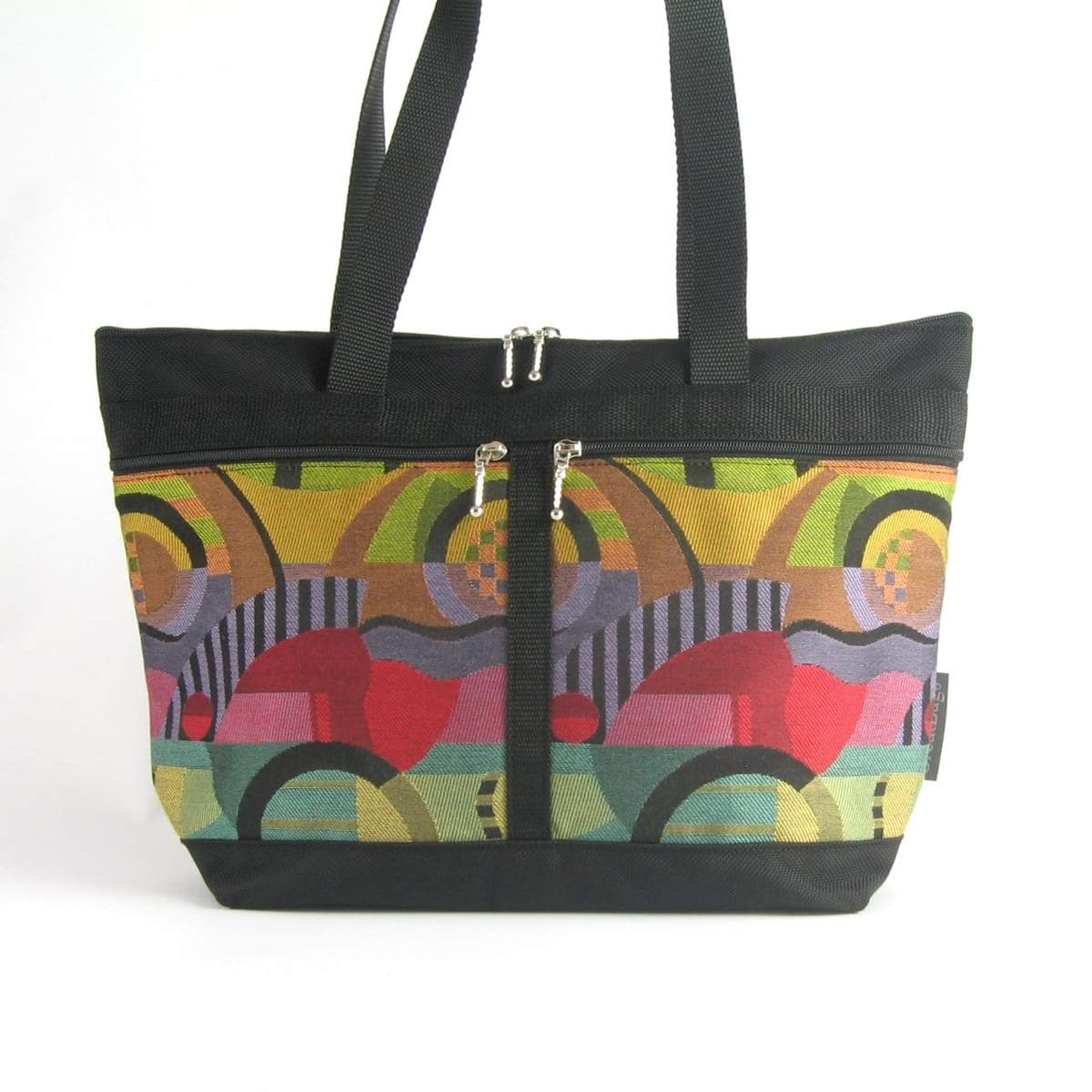 Large French Tote in Kandinsky - Heart of the Home PA