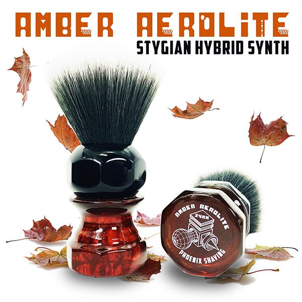 Amber Aerolite Stygian Synth Hybrid Brush - Heart of the Home PA