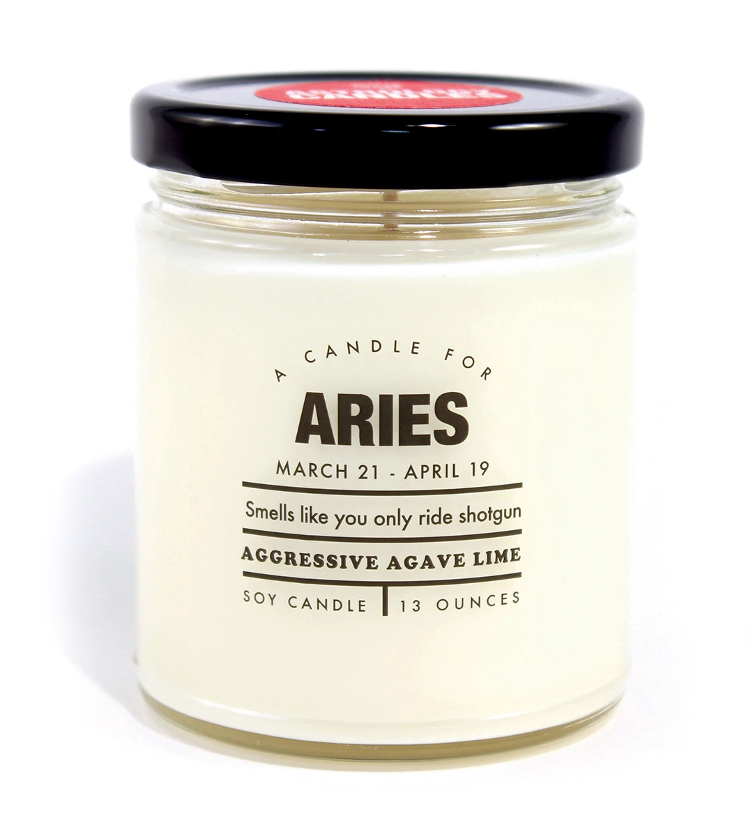 Astrology Candle Aries - Heart of the Home PA