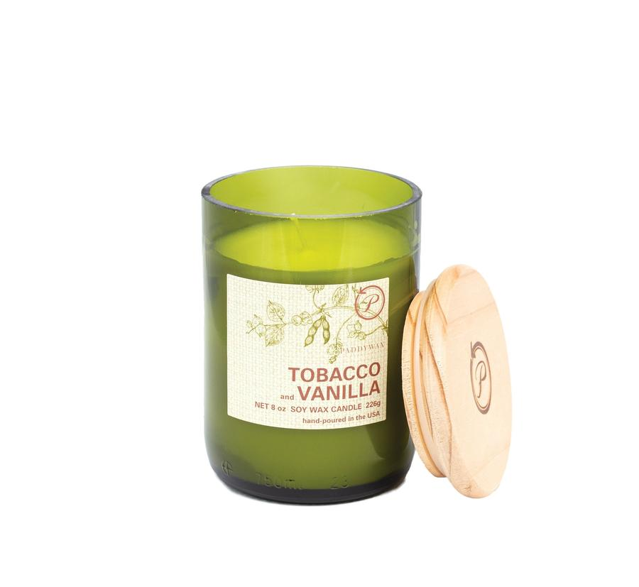 Eco Candle - Tobacco & Vanilla - Heart of the Home PA