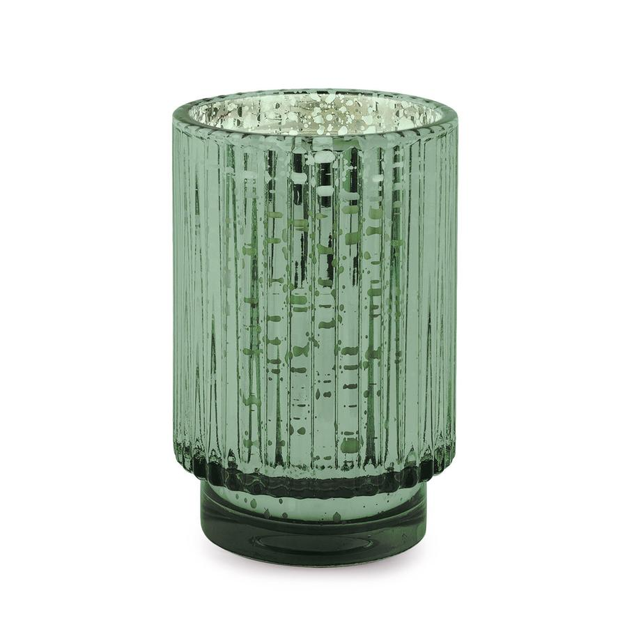 Cypress & Fir - Tall Green Mercury Candle - Heart of the Home PA