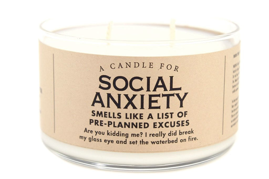 A Candle for Social Anxiety - Heart of the Home PA