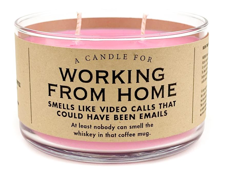A Candle for Working from Home - Heart of the Home PA