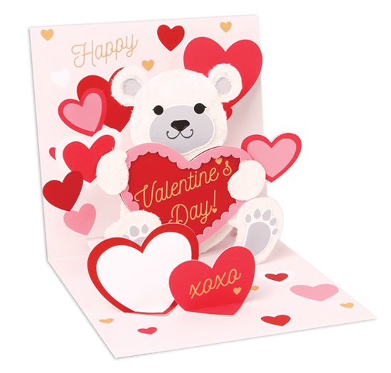 Bear & Hearts Pop-Up Card - Heart of the Home PA