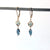 Blue Gemstone Earrings - Heart of the Home PA