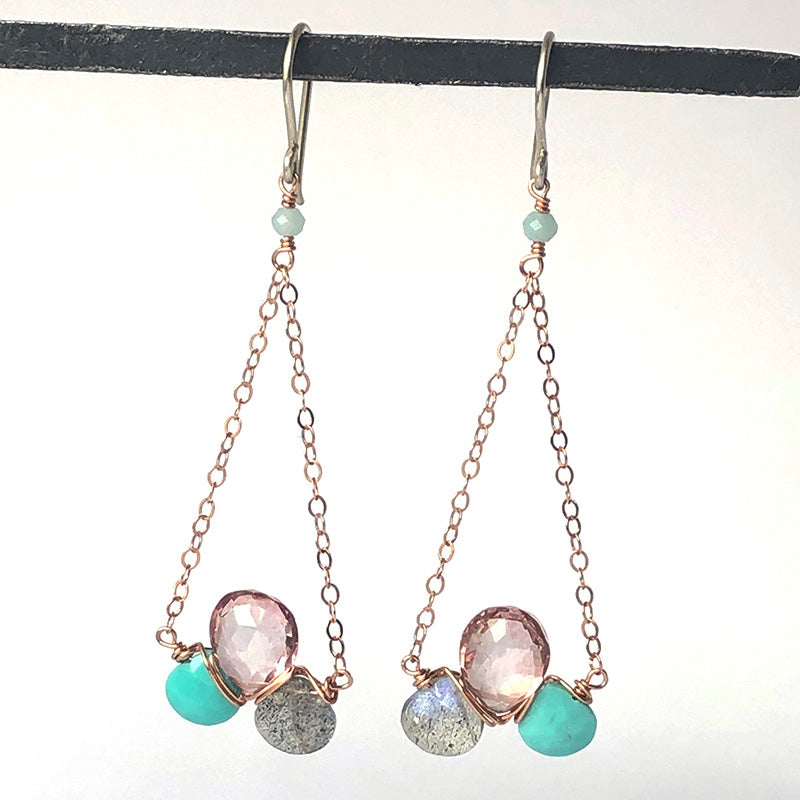 Bubble Bar Earrings in Dream - Heart of the Home PA