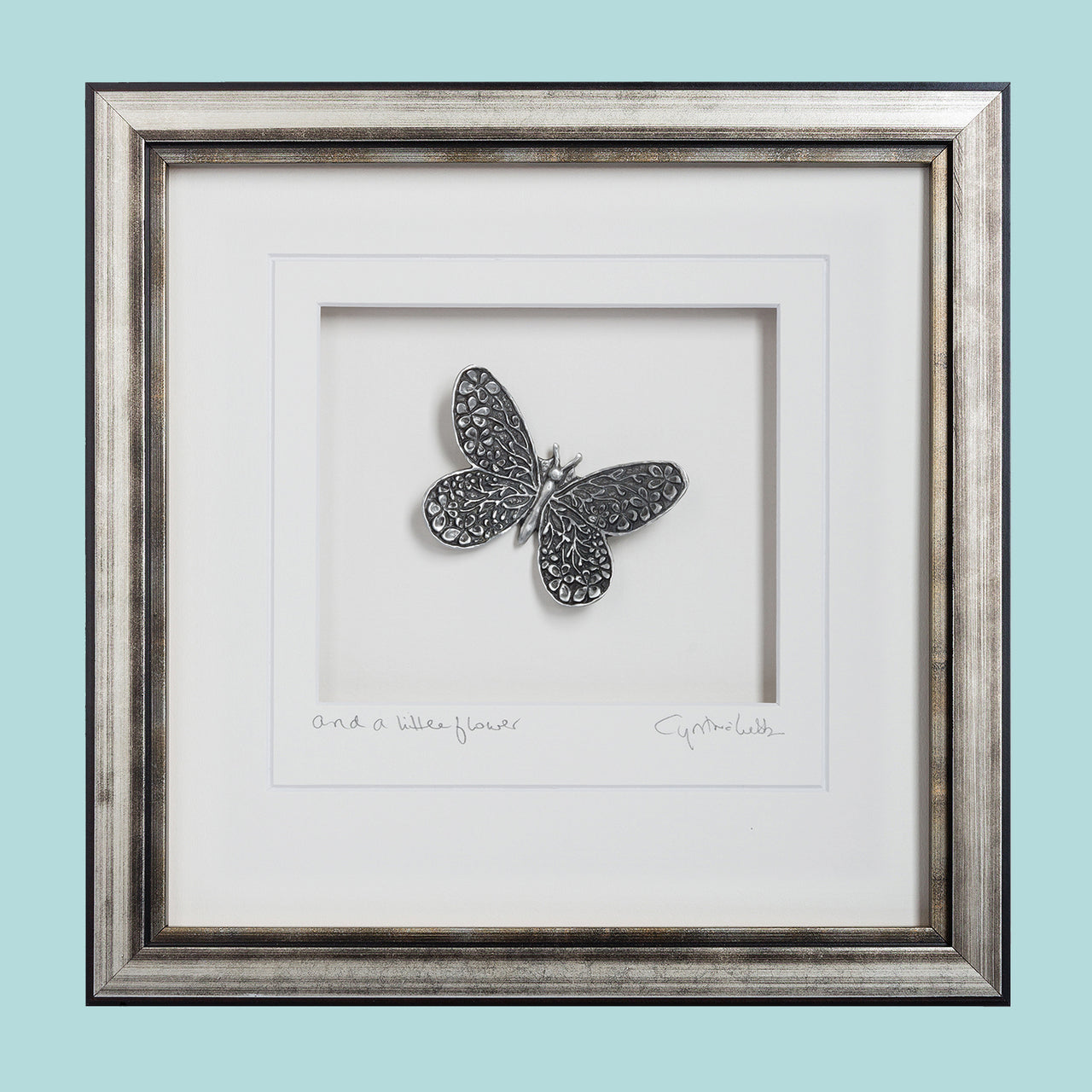 Butterfly Framed Wall Art - Heart of the Home PA