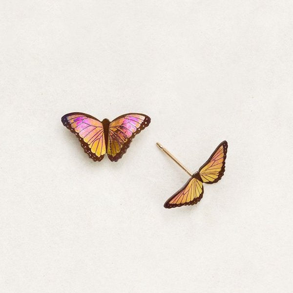 Petite Bella Butterfly Post Earrings - Heart of the Home PA