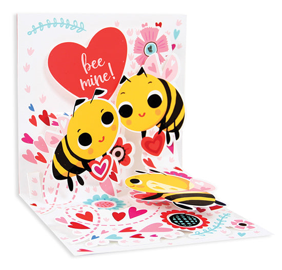 Buzz Love Pop-Up Card - Heart of the Home PA