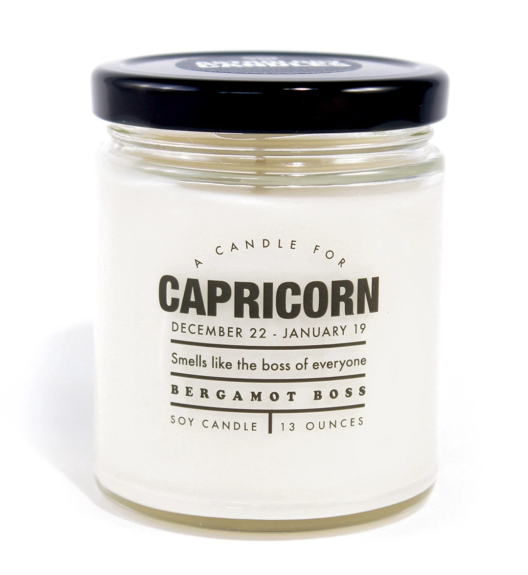Astrology Candle Capricorn - Heart of the Home PA