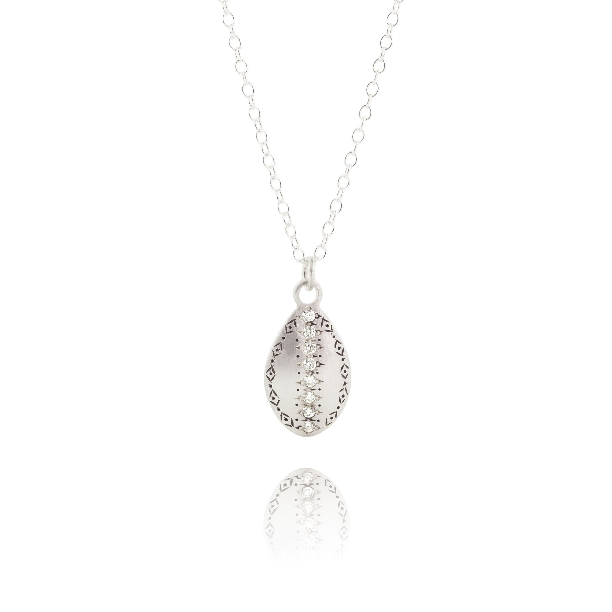 Diamond Dew Drop Pendant - Heart of the Home PA