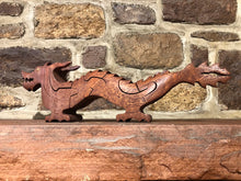 Load image into Gallery viewer, Chinese Dragon Puzzle in Mahogany
