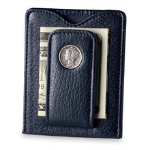 Load image into Gallery viewer, Mercury Dime Money Clip in Black