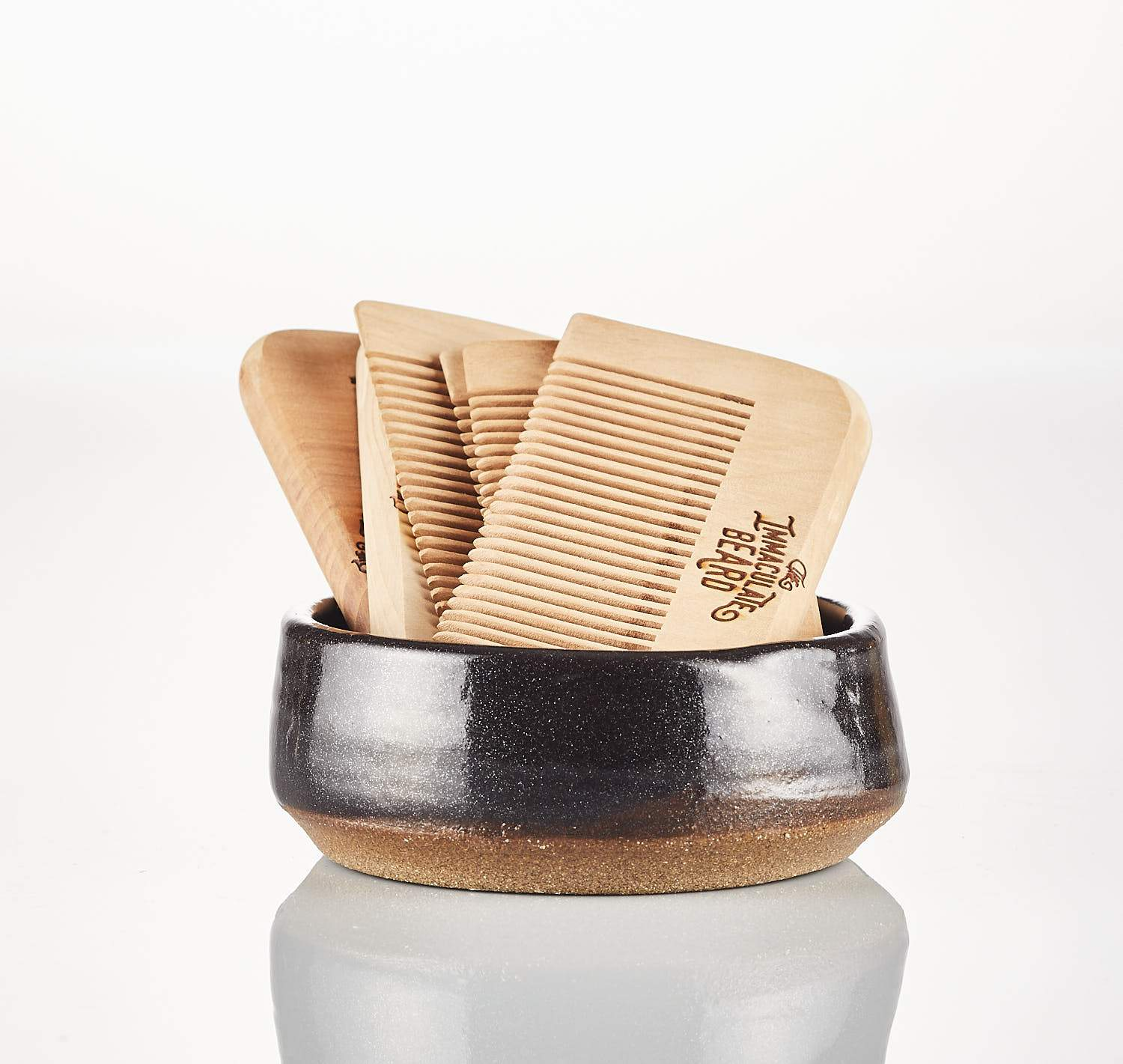 Wooden Beard Comb - Heart of the Home PA