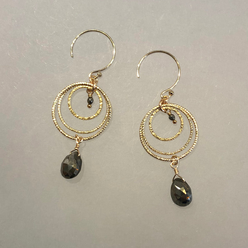Concentric Rings Earrings - Heart of the Home PA