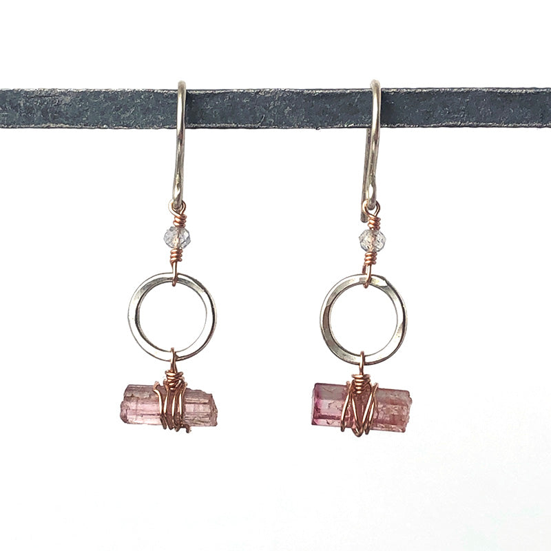Crystal Loops Earrings in Dream - Heart of the Home PA