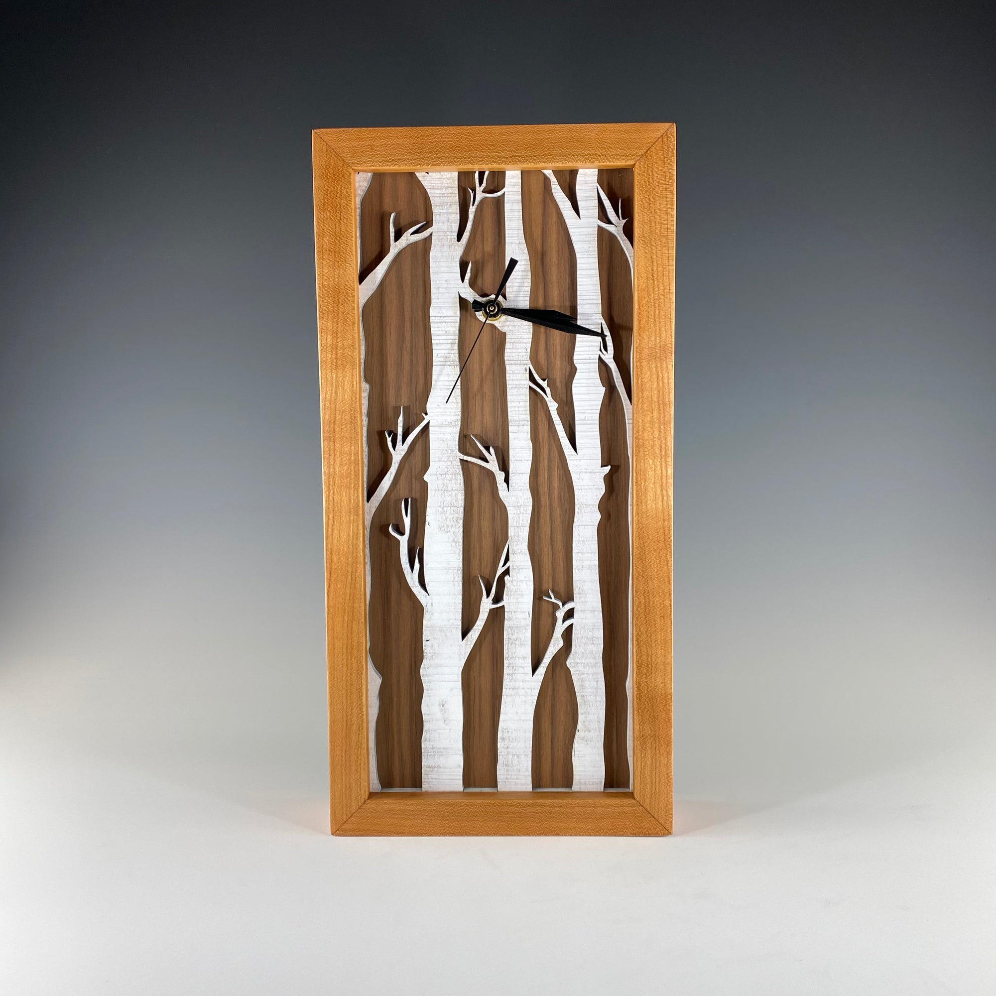 Tall Box Clock, Birches - Heart of the Home PA
