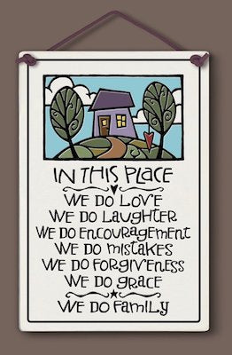 In This Place Wall Plaque - Heart of the Home PA