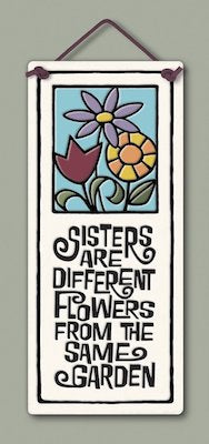 Sister Flower Wall Plaque - Heart of the Home PA