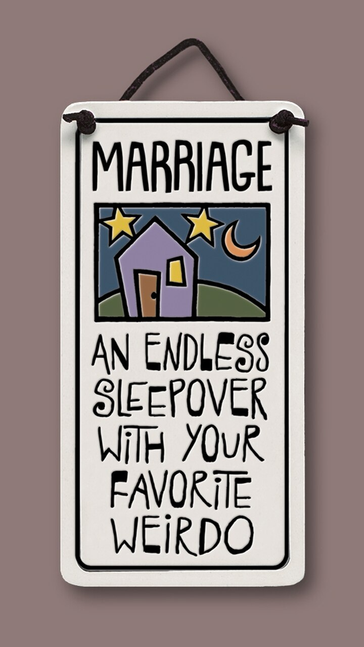 Endless Sleepover Wall Plaque - Heart of the Home PA