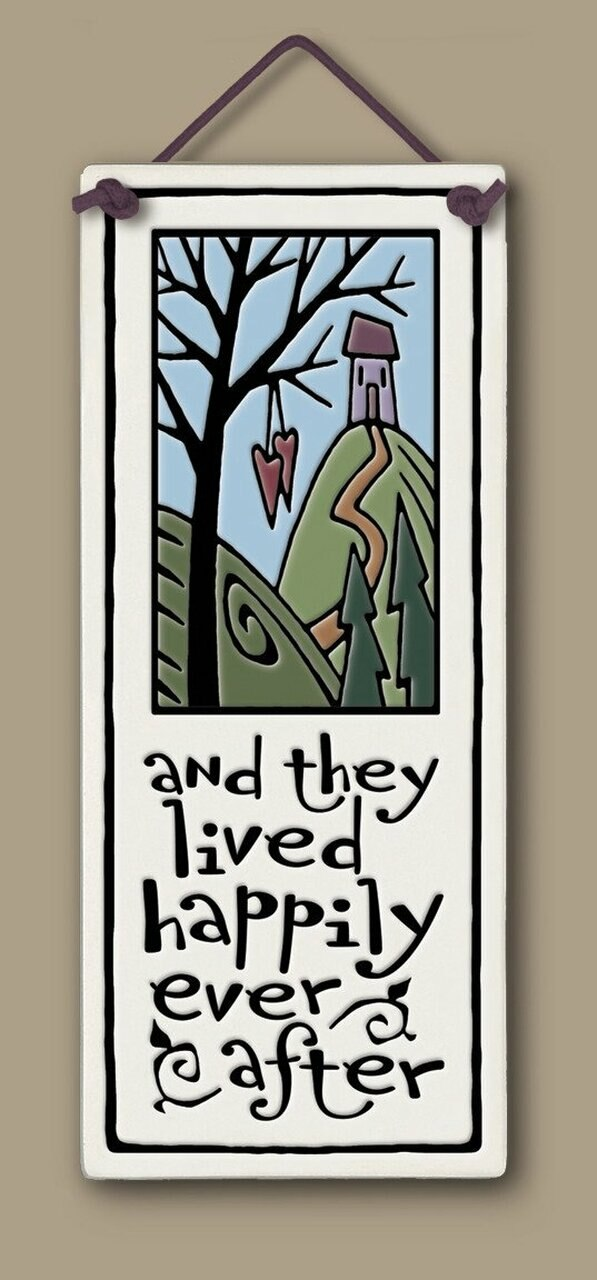 Happily Ever After Wall Plaque - Heart of the Home PA