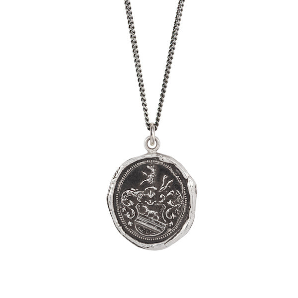 Heart of the Wolf Talisman Pendant - Heart of the Home PA