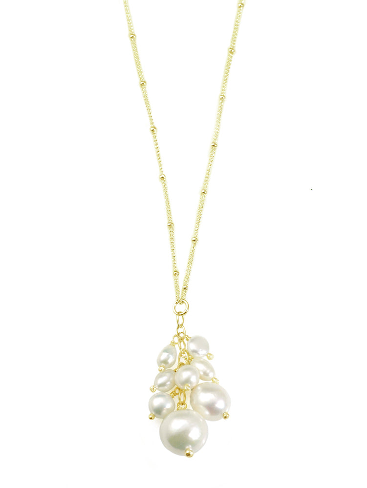 Pearl Cluster Pendant - Heart of the Home PA