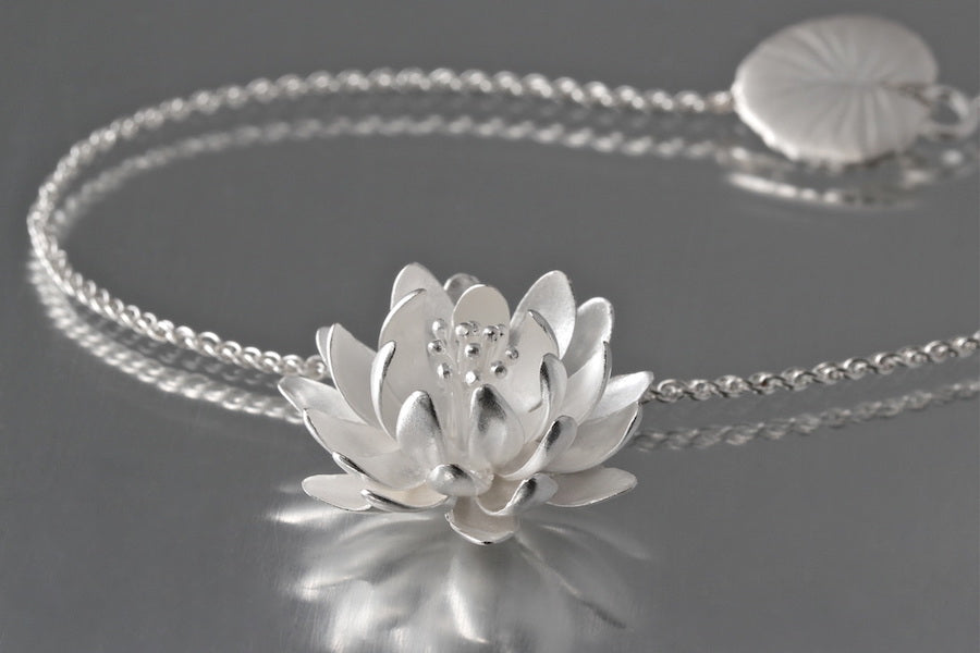 Water Lily Large Pendant - Heart of the Home PA
